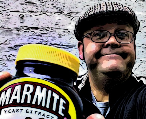 """The Face of Marmite"""